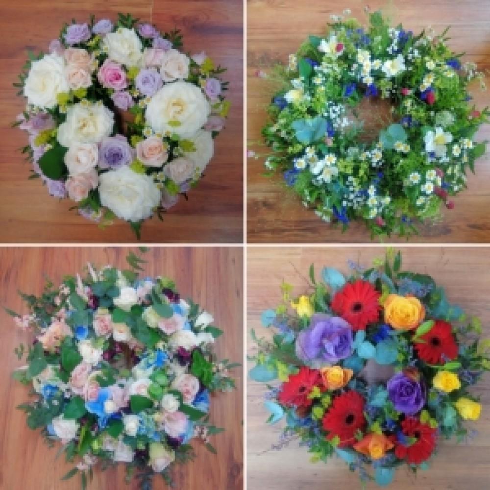 Sympathy Wreath Ring